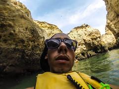 Perdido en Lagos (BreakbeatFTW) Tags: travel sea party summer portugal rock kayak lagos vans cave ans cuevas 2013