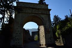 DSC_7932_513 Arch of Augustus - Susa (To) (angelodaVerona) Tags: rome roma ancient arch piemonte arco remains susa emperor augustus augusto imperatore resti dellantica vision:text=0609 vision:outdoor=0961