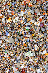 On The Glass Beach (sbisson) Tags: california brown white green beach glass rock pebbles pch glassbeach seaglass fortbragg fragements