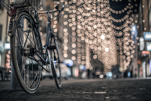city bicycle light
