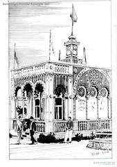 Porto Alegre Pavilhão Exposição 1901