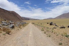 The long, straight road to Paso Socompa