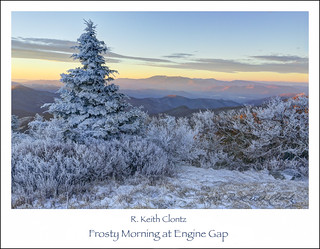 Frosty Morning at Engine Gap by R. Keith Clontz