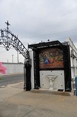Gate and mosiac