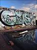 Crust FU (Alex Ellison) Tags: urban rooftop crust graffiti boobs krusty fu graff crusty eastlondon throwup krust throwie foofe