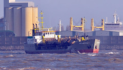 Ships of the Mersey - WD Mersey (sab89) Tags: new liverpool river brighton ship ships birkenhead wd mersey wallasey wirral dredger dockland