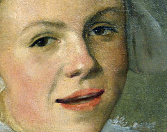 Judith Leyster, Self-Portrait (detail), c. 1633