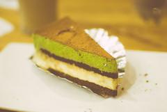 (vertbre) Tags: dessert cafe tiramisu greentea greenteatiramisu