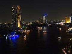 2012 12 14 l Vac Thailand Shangri-La Hotel - Bangkok - night view from room balcony-15 (pierre-marius M) Tags: from thailand hotel bangkok balcony room shangrila nightview vac balconynightview