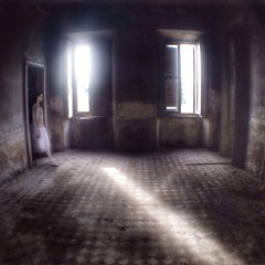 Slices of lights (Federica Corbelli) Tags: abandoned decay urbex iphoneart absolutegoldenmasterpiece iphoneography truthandillusion ofportalsandparallelworlds federicacorbelli