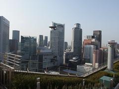 Rooftop farm @ Osaka station (*_*) Tags: city sun station japan train march spring jr osaka kansai umeda 2014