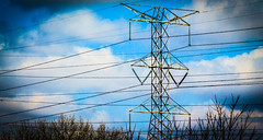 Illinois Pylon Power Lines (Doctor Christopher) Tags: illinois pylon powerlines