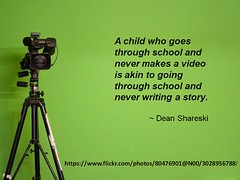 camera school video student child tripod story digitalstorytelling greenscreen