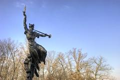 Louisiana to Her Fallen (Sabreur76) Tags: sculpture monument statue bronze louisiana pennsylvania statues confederate pa gettysburg civilwar monuments sculptures hdr pickettscharge csa vicen confederates photomatix gettysburgbattlefield louisianamonument nikond80 feli tamron18270 sabreur76 vicenfeli