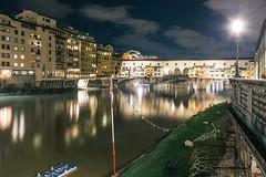 Firenze, Ponte Vecchio (Marco Stoppazzini) Tags: italy night landscape florence italia cityscape ponte firenze toscana vecchio