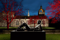 lounging young man.jpg (___INFINITY___) Tags: 6d aberdeen canonef1740mmf4lisusm kingscollege oldaberdeen outdoor universityofaberdeen architect architecture bluehour building canon chapel darrenwright dazza1040 eos flash infinity light lightpainting loungingyoungman magiclantern night scotland statue stobist strobist uk visit wideangle