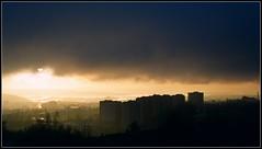Shifting weather (Marie Helèn) Tags: weather oslo sky clouds norway shiftingweather sun rain winter skyscape bjerke