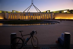 Seat of Government (Geoff Main) Tags: act australia canberra canon6d canonef24105mmf4lisusm enlighten lights parliamenthouse