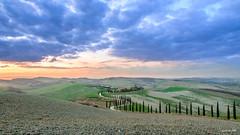 Baccoleno Tramonto (ClaudioMio_) Tags: 1685mm 2017 d5100 nikkor nikkor1685mm nikon nikond5100 panorama siena toscana tuscany italia italy landscape baccoleno sunset tramonto asciano