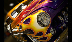Da Bomb (Whitney Lake) Tags: worldofwheels flames custom antique automobile car classic hotrod