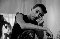 CARLOS MATALLANA 1985 (Pedro Angel Ruiz) Tags: carlos matallana manrrique pintos islas canarias lanzarote artista
