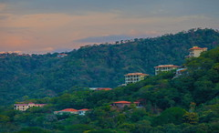 Mountain View (stevenbulman44) Tags: costarica canon house mountain sunset color landscape green forest 70200f28l tripod gitzo gnd filter