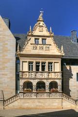 Rathaustreppe und Ratslaube