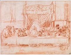 A Última Ceia, depois de Leonardo da Vinci