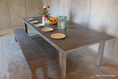 This beautiful custom 10 ft x 4 ft Farmhouse Table and Bench was delivered to an excited customer over the weekend. (Ocean West Designs) Tags: harvesttable rustictable farmhouseliving diningroomdecor farmhousetable woodtable farmtable kitchentable sawdust decoratingideas finewoodworking wooddesign diningtable farmhousedecor woodshop woodworker customfurniture woodcraft craftsman builder southernliving rusticdecor carpenter farmhousestyle designing craftsmanship diningroom theartofslowliving smallbiz entrepreneur