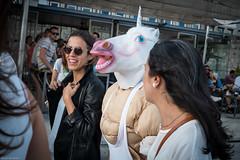 What a pretty unicorn... (Sérgio Miranda) Tags: photography sérgiomiranda fujifilm fujinon fujix fujixpro1 oporto people photo porto portugal sergiomiranda street streetphotography urban xf27 xpro1
