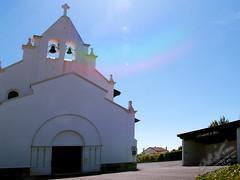 P5100183-c (OL!v!ER) Tags: refletdagences paysbasque euskadi eglise canicule anglet abris soleil cloches dieu