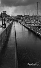 Rainy day (Jason Bradshaw Photography) Tags: canon canonphotography clouds capture contrast ocean plymouth digitalphotography devon plymouthhoe barbican plymouthbarbican blackandwhite harbour boats nikon nikonphotography rain landscapephotography landscapes water southwest sea canon400d