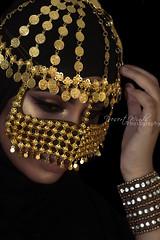 Walking on an abyss (DesertWindsPhotography) Tags: jewelry makeup art blue gold red india arab arabic uae qatar saudi arabia black colorful morocco fabric hijab green women portrait indoor bright background الإمارات السعودية بتولالكويت البرقععيون،برقع