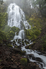 Moon Falls (roe.nate) Tags: waterfall longexposure water creek stream rock moss forest nature oregon pnw