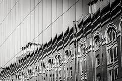 DSC03336 (KNPhotoLondon) Tags: sony a6000 london cityoflondon city e18105g blackandwhite bw mono monochrome architecture building structure reflection mirror glass