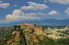 Civita di Bagnoregio (njk1951) Tags: civita bagnoregio civitadibagnoregio lazio justnorthofrome ancientcity italy italia etruscan hilltown hamlet belltower