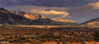 November sunrise, Utah