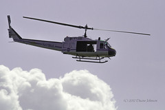 NASA UH-1 Huey (GalaxyFan (Bighorn Photography)) Tags: merrittisland merrittislandwildliferefuge helicopter huey uh1 nasa nasahelicopter nasaaviation canon7d canon canonaviation canon100400mmf4556isl n419na