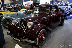 Citroën Traction 7C Faux-cabriolet 1937 (fangio678) Tags: retromobile paris 09 02 2017 voituresanciennes ancienne collection cars classic coche oldtimer youngtimer citroën traction 7c fauxcabriolet 1937 french francaise