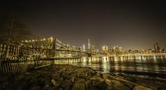 The Big Apple and the Brooklyn Bridge (C@mera M@n) Tags: bridge brooklyn brooklynbridge city cityscape harbor manhattan ny nyc newyork newyorkcity nightphotography places skyline urban water waterfront worldtradecenter night nycphotography outdoors