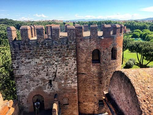 avvistato il #verde (e i #castelli ma quelli romani) dalle #muraaureliane a #pasquetta2017
