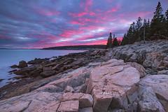 Otter Point - Acadia National Park, Maine (pvarney3) Tags: acadia maine acadianationalpark ocean sunset landscape scenic mountdesertisland newengland