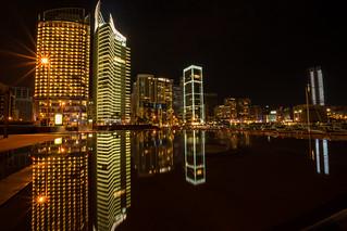 Reflection At Zaytouna Bay, Beirut Lebanon