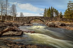 The bridge at Lunde (tods_photo) Tags: ifttt 500px sky water river blue clouds old fast bridge running stone stream flow landmark stonebridge