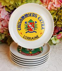 Paris Porcelain Porcelaine De Paris France Plates ~ Cheese (Donna's Collectables) Tags: paris porcelain porcelaine de france plates ~ cheese