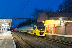 NS VIRM 9556 te Hoogeveen, 19-04-2017 (Pieter Plas) Tags: ns virm 700 500 groningen hoogeveen gn hgv 9556