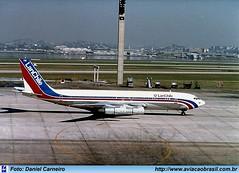Lan Chile - CC-CEK (Aviacaobrasil) Tags: lanchile boeing707 aeroportointernacionaldoriodejaneirogaleão danielcarneiro