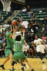 WBasketball-vs-North Texas, 1/26, Chris Crews, DSC_5117 (PsychoticWolf) Tags: 49ers basketball charlotte cusa d1 green mean ncaa ninermedia north nt texas unc uncc unt womens