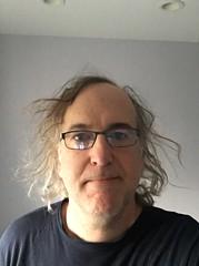 Selfie, haircut day (Area Bridges) Tags: april 2016 haircut sean me self selfie 201604 20160401