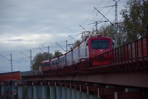 Sheremetevo airport railway line, ED4MKM-AERO-0007